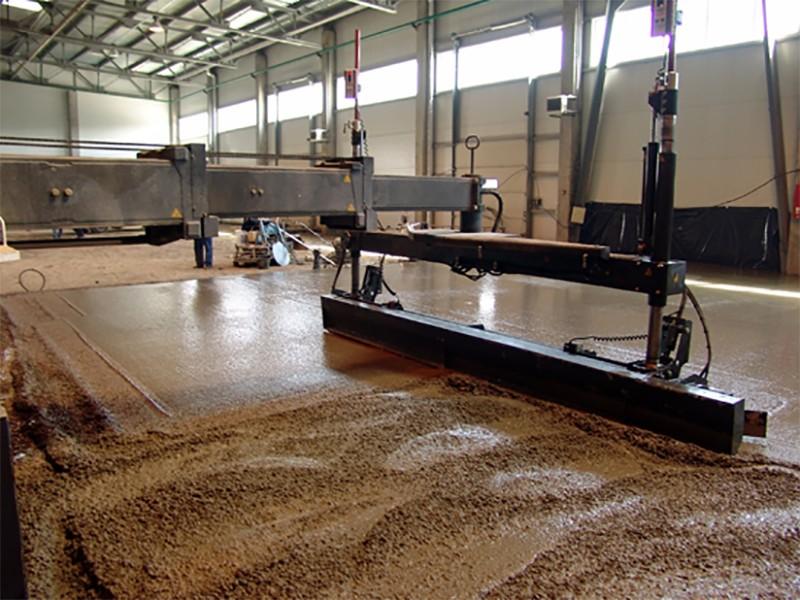 Монолитные бетонные полы